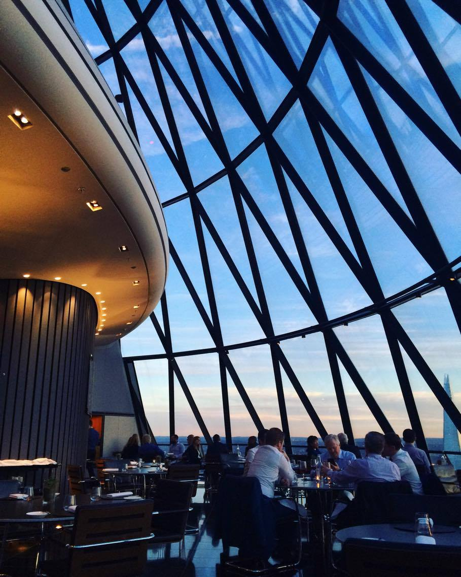 Searcys at the Gherkin, London
