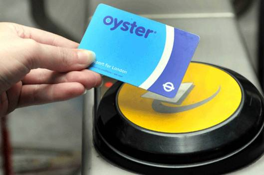 Oyster Card London Underground